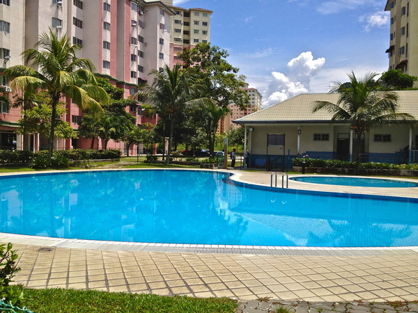 Unfurnished Inium For Rent At Tasik Heights Apartment Bandar Selatan