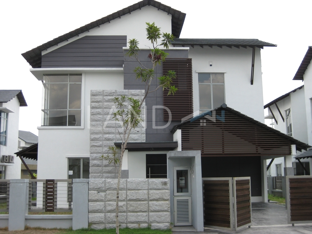 Partially Furnished House For Auction At Laman Seri Section 13 Shah Alam Land