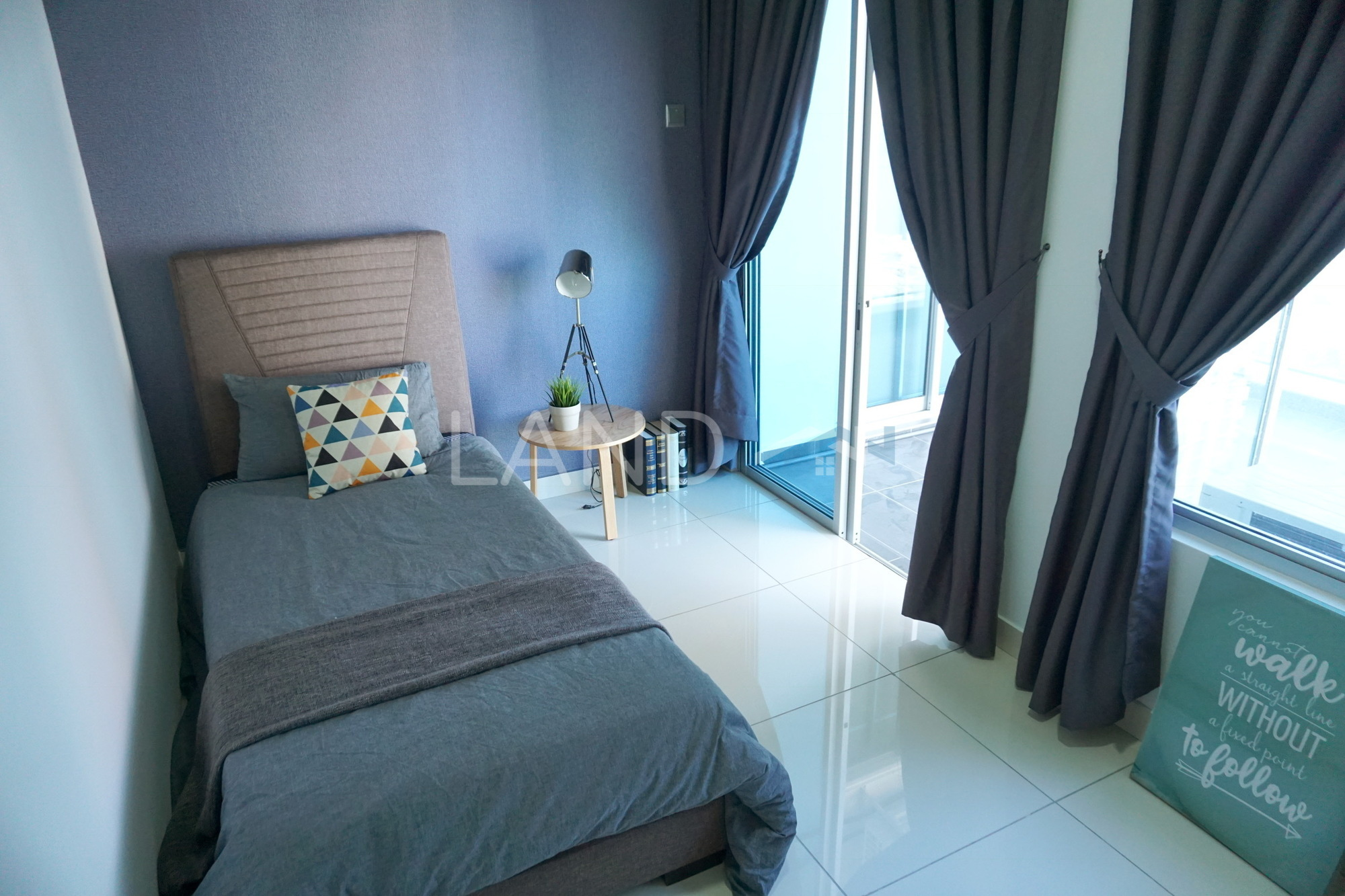 Fully Furnished Room In Apartment For Rent At Johor Malaysia Land
