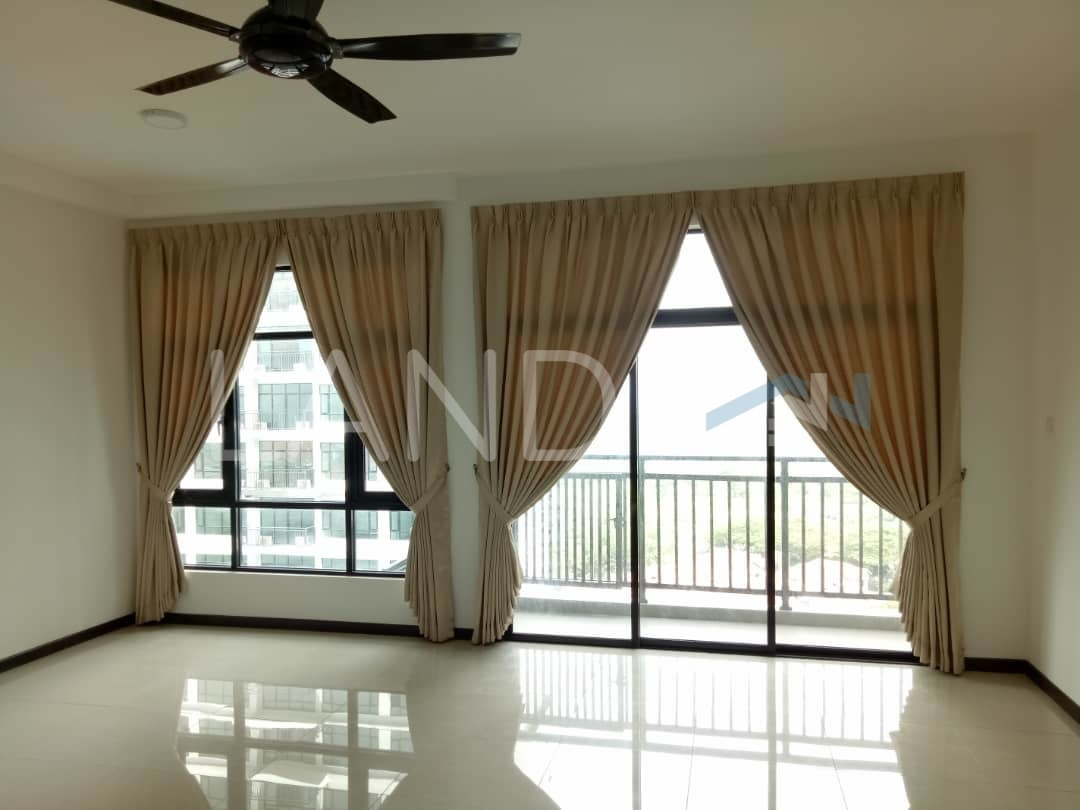 Partially Furnished Condominium For Rent At Molek Regency