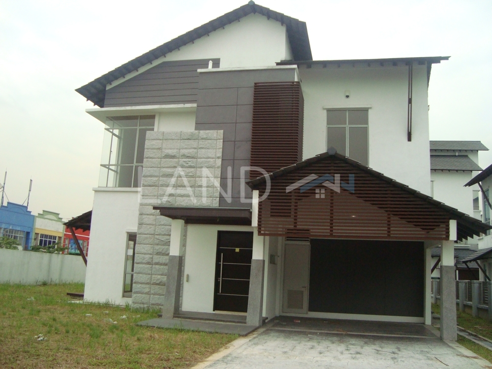 Partially Furnished Semi Detached For Sale At Laman Seri Section 13 Shah Alam Land