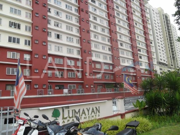 Partially Furnished Low Cost Flat For Rent At The Lumayan Bandar Sri Permaisuri Land