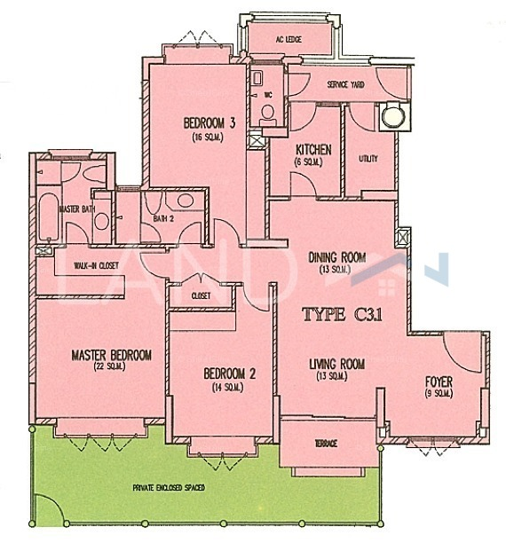 Partially Furnished Condominium For Sale At Costa Rhu Tanjong Rhu Land